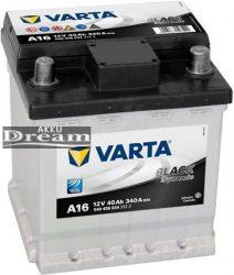 VARTA A16 Black Dynamic 12Ah 40Ah 340A J+ (540 406 034)