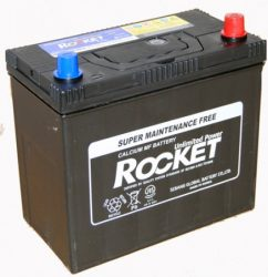 Rocket 45Ah, 430A, J+ (Dél-koreai) Honda