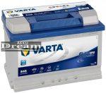 VARTA Blue Dynamic EFB 12V 70Ah jobb+ autó akkumulátor (570500065D842)