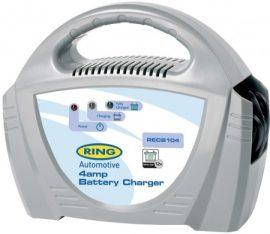 Ring RECB104 12V 4A Akkumulátor töltő
