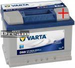 VARTA D59 Blue Dynamic 12V 60Ah EN 540A J+ alacsony (560 409 054)