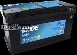Exide Start Stop Micro Hybrid EK950 95 Ah 850 A / AGM