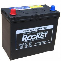 Rocket 45Ah 430A B+ normál sarú