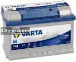 VARTA Blue Dynamic EFB (Start-Stop) 12V 65Ah jobb+ autó akkumulátor akku (565500065D842)