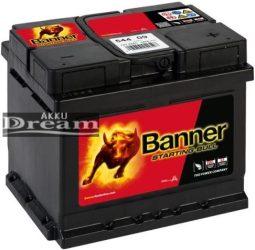 Banner Starting Bull 12V 44Ah 360A jobb+ (175mm)
