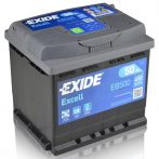 Exide Excell 50Ah 450A EB500