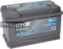 Exide Premium 12V 85Ah 800A J+ EA852