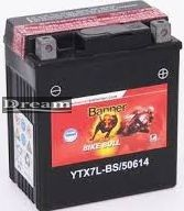 Banner Bike Bull AGM YTX7L-BS
