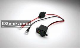 CTEK - paneles töltő csatlakozó LED kijelzővel M8 1,5m