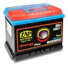 ZAP Energy Plus 60Ah Jobb+