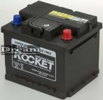 Rocket 12V 44Ah J+ (Kia, Hyundai gyári akku) 190mm