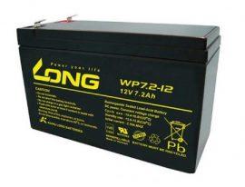 Long 12V 7,2Ah (Riasztó beltéri egységhez)
