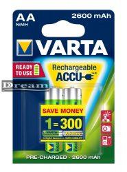 Elem akkumulátor AA 2600mAh 2db Accu Ready 2 Use