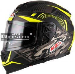 NZI EURUS 2 DESERT BLACK & YELLOW MATT