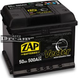 ZAP Vecter 12V 50Ah 500A J+ (175mm)