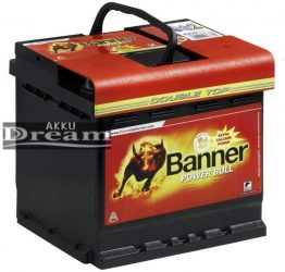 Banner Power Bull 12V 50Ah jobb+ 450A (P5003)
