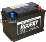 Rocket 12V 78Ah 660A J+ (Kia, Hyundai, VW gyári akku)