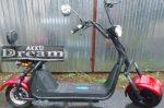 Elektromos roller Lithiom 60V 20AH (Matt fekete, Bordó, Kék)
