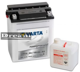 Varta Powersports YB14L-A2