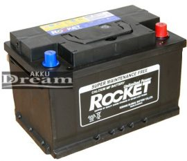 Rocket 12V 71Ah 620A J+ (Kia, Hyundai, VW gyári akku)