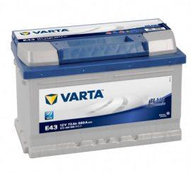 Varta Blue Dynamic 74Ah 680A J+ (190mm)