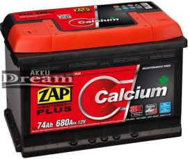 ZAP Plus 74Ah 680A B+