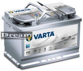 Varta Silver Dynamic AGM 12V 70Ah 760A J+