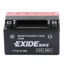 Exide Bike YTX7A-BS
