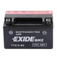 Exide Bike YTX7A-BS