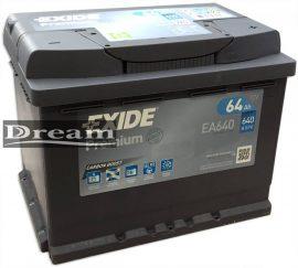 EXIDE Premium EA640 12V 64Ah 640A J+