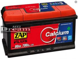ZAP PLUS 12V 80Ah 700A J+
