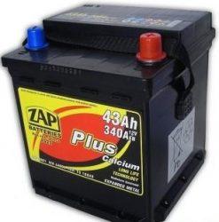 ZAP Plus 43Ah 340A (PUNTO, SEICENTO)