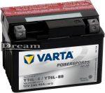 VARTA Powersports AGM 12V 3Ah J+ YT4L-BS