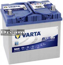 VARTA Blue Dynamic EFB 12V 65Ah 650A akku J+ ázsia (565501065D842)