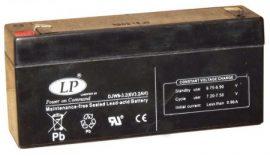 LP 6V 3.2Ah (132*32*64)