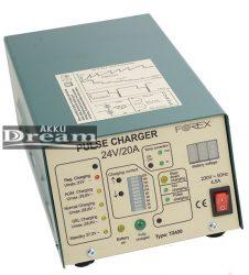 Forex Akkumulátor töltő T2420 24V 20A