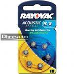 Elem hallókészülékbe Rayovac 10 (bliszter)