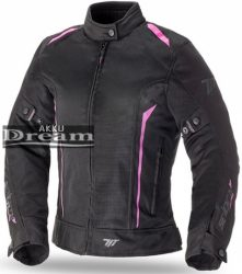 SPEED UP Tropic motoros textildzseki szürke/fekete/piros