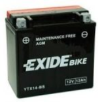 Exide Bike YTX14-BS
