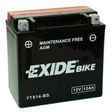 Exide Bike YTX14-BS
