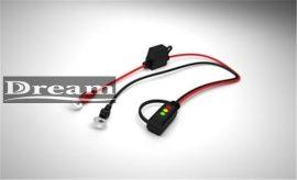 CTEK - szemes töltő csatlakozó LED kijelzővel M6