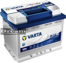 VARTA BLUE DYNAMIC EFB 12V 60AH 640A J+