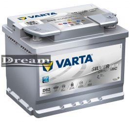 Varta Silver Dynamic AGM 12V 60Ah 680A J+ Start Stop