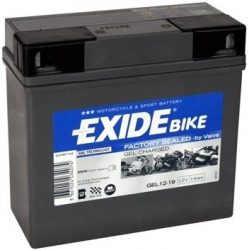 Exide Bike GEL12-19 12V 19Ah J+(BMW)