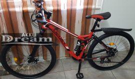 """LauxJack Mountain bike 26"""" 21 sebességes kerékpár Piros"""