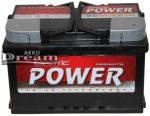 Electric Power 12V 72Ah 680A J+