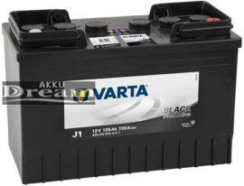 Varta Promotive Black 12v 125ah 720A J+ Iveco