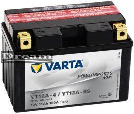 Varta Powersports YT12A-BS