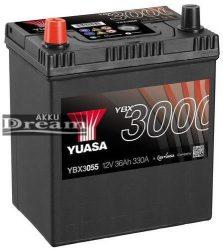 YUASA 12V 36Ah 330A B+ (YBX3055)