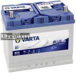 VARTA Blue Dynamic EFB 12V 72Ah 760A akku J+ ázsia (572501076D842)